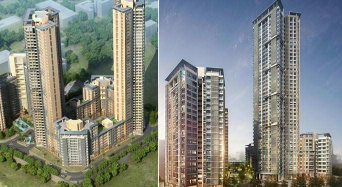 2 BHK Flats & Apartments for Sale in Kandivali East, Mumbai - 1427 Sq. Feet
