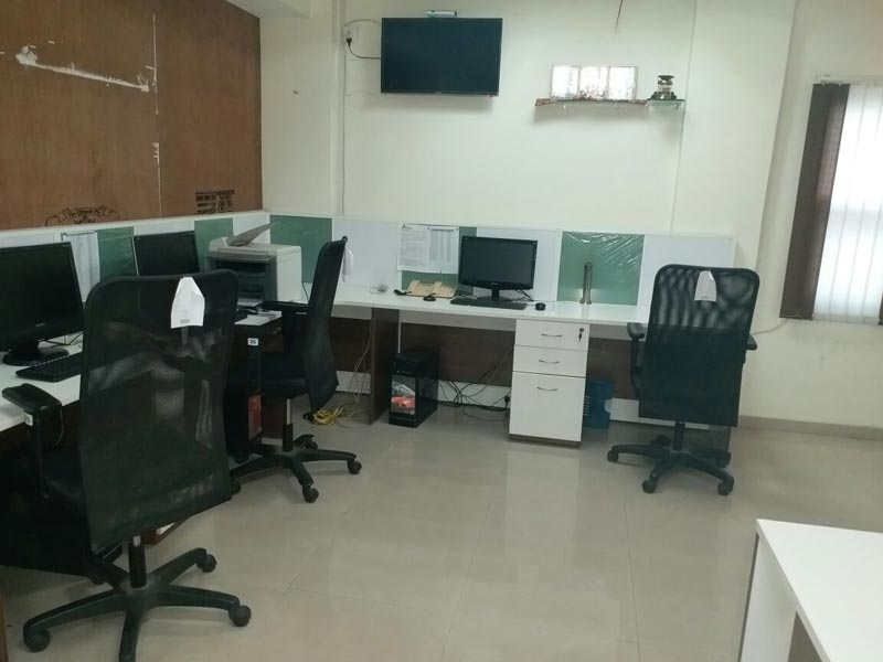 1800 Sq. Feet Office Space for Rent in Nashik - 1800 Sq.ft.