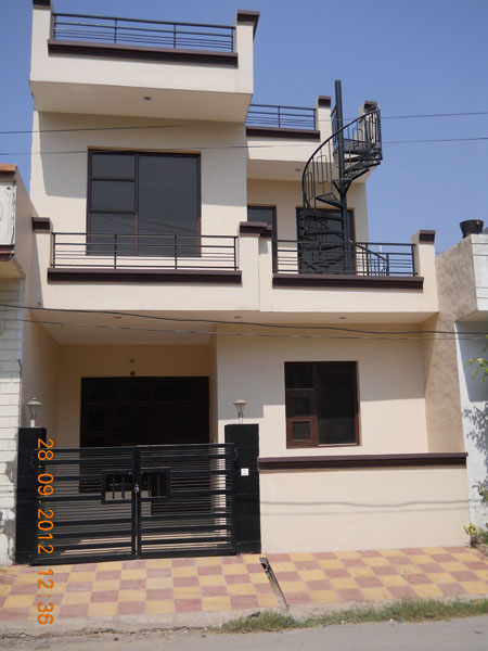 3 Bhk Individual House Home For Rent At Zirakpur