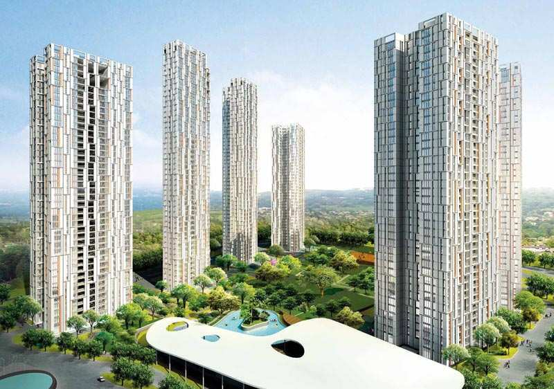 3 BHK Flats & Apartments for Sale in E M Bypass, Kolkata - 1978 Sq.ft.