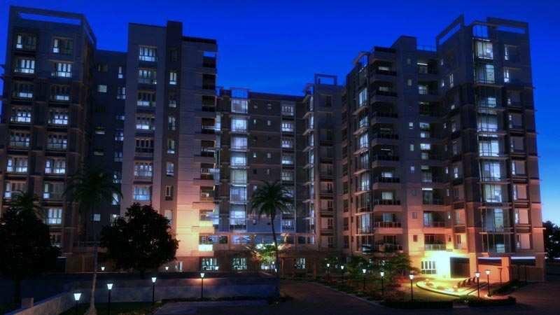 3 BHK Flats & Apartments for Sale in V I P Road, Kolkata - 1577 Sq.ft.