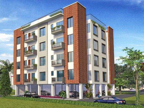 2 BHK Flats & Apartments for Sale in Faizabad Road, Lucknow - 800 Sq. Feet